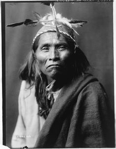 Ndee Sangochonh, Apache 1906 | Edward Curtis