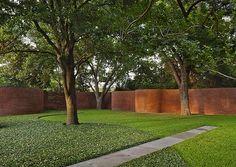 michael van valkenburgh associates / hoffman garden, dallas