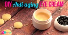 DIY natural anti-aging eye cream is simple to make and may help fine lines and wrinkles on delicate skin. Five simple ingredients come together in no time.