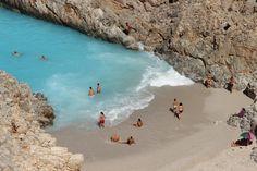 VISIT GREECE  The amazing #beach of Seitan Limania in #Chania, #Crete