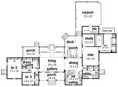 Southern living fox hall house plan - House and home design