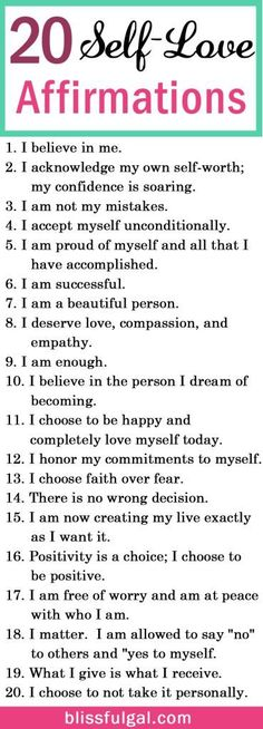 Self-love and affirmations quotes can be the perfect remedy to create a happier life. These affirmations for happiness are just what you need for self-improvement. Self-love quotes / Self-love tips health_tips, motivation, Affirmations For Happiness, Affirmations Positives, Self Love Affirmations, Positive Affirmations For Anxiety, Self Happiness Quotes, Miracle Morning Affirmations, Healthy Affirmations, Motivation Positive, Positive Quotes