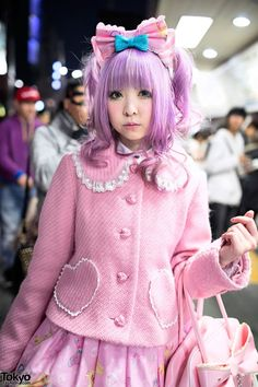 RT @TokyoFashion: Thanks to Moco's Kawaii Pink Angelic Pretty Style at Harajuku Station, follow Moco! @m402u http://flip.it/aUYbq