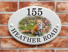 A collection of ceramic style house plaques with artistic pictures of wildlife, flowers, dog breeds & hobbies created by our own sign artistsThis range of ceramic style house signs feature over 70 different artistic pitorial designs which ha. House Plaques, House Names, House Signs, Sign Printing, Print Pictures, Fashion Pictures, Dog Bowls, Decorative Plates, The Selection