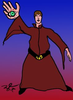 The Blind Magician. My version of the Tarot Card. Tarot Cards, The Magicians, Blind, Iron Man, Original Artwork, Deep, Superhero, Fictional Characters, Tarot Card Decks