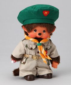 Take a look at this Boy Scout Monchhichi by Monchhichi on #zulily today!