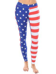 American Flag Leggings                                                                                                                                                     More
