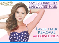 #Laser #Hair Removal at Ego Wellness.