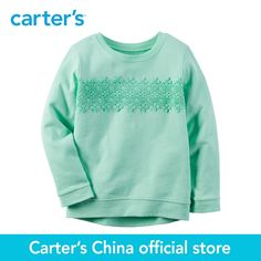 Carter s 1pcs baby children kids Long Sleeve Lace Top 235G589 sold by Carter s China. Click visit to buy #babygirltop