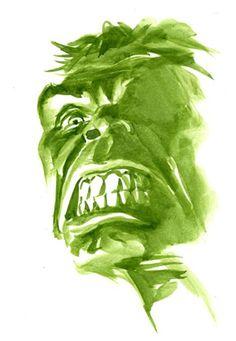 #Hulk #Fan #Art. (The Hulk) By: Alex Ross. ÅWESOMENESS!!!™