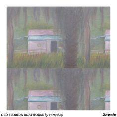 OLD FLORIDA BOATHOUSE FABRIC