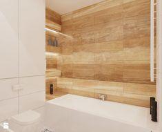 Namiarkowa 75m2 - Mała łazienka w bloku bez okna, styl minimalistyczny - zdjęcie od Ale design Grzegorz Grzywacz