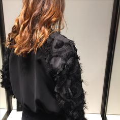 I loved this jacket as it reminded me of Carrie's vintage Givenchy one in the second film (yes that was cream but the sleeve detail was what did it).  Slightly regretting not buying it now! #fashion #style #black #jacket #shopping #stylediaries #fashionstyle #fashiondiaries #fashioninspiration #styleinspiration