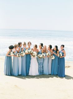 Beautiful Summer wedding bridesmaid dresses to have, dusty blue wedding , beach wedding Beach Wedding Bridesmaids, Beach Bridesmaid Dresses, Turquoise Bridesmaids, Tiffany Blue Bridesmaids, Wedding Turquoise, Beach Wedding Colors, Beach Wedding Reception, Beach Theme Wedding Dresses, Baby Blue Wedding Theme