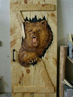 Dream door for man cave