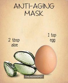 Anti-aging Aloe Vera Mask