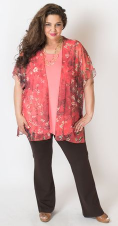 Who knew a little kimono could be so pretty? Blue Sky Clothing Co