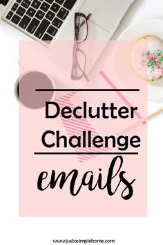 Declutter challenge - EMAILS Is your inbox overflowing, like mine was? I finally took the time to conquer it and learned some tricks along the way to keep it organized! Join us today and get your email under control with these quick changes.