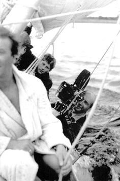 """Knife In The Water"" was shot by Roman Polanski in 1962 in Poland using only three actors. It marked Polanski's debut as a feature-length director and has been included in lists of the best debut feature films. Being filmed on the water on a sailboat the film was technically difficult to make."