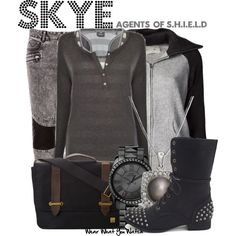 """""""Skye (Agents of S.H.I.E.L.D)"""" by wearwhatyouwatch on Polyvore"""