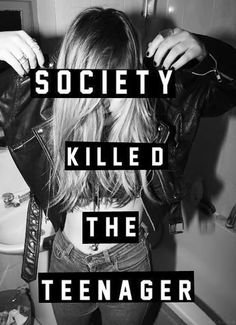 """All these pins about """"society killed the teenager, and """"fuck society."""" I don't see what you guys are getting at.We Are Society.you're part of society, Tumblr Quotes, My Tumblr, Lyric Quotes, Sad Quotes, Inspirational Quotes, Lyrics, Sadness Quotes, Teen Quotes, People Quotes"""