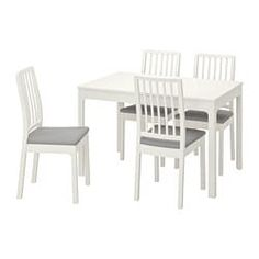 Shopping list - IKEA Dining Furniture Sets, Ikea Furniture, Ikea Ps 2014, Under The Table, Painted Chairs, First Apartment, Smart Design, Particle Board, Table Legs