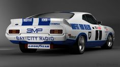 AutoMotivated. Allan Moffat & Jackie Ickx's '78 Ford Falcon XC Cobra in Bathurst warpaint.