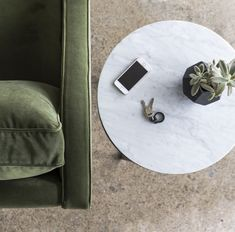 Ethel sofa from our Sofa Maker collection in Antique Atelier Velvet by Instyle  #velvetsofa #greeninterior #sofa #upholsteredsofa #livingroomfurniture #sofa #lounge #couch #greensofa