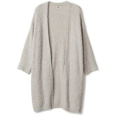 Hatch knit cardigan