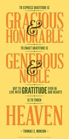 Teaching ideas for families, as well as images, music, videos, and other content to inspire gratitude.    Learn more at http://www.lds.org/topic/gratitude/