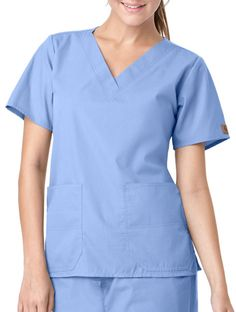 My real style 5 days a week Womens Scrubs, Real Style, Carhartt, Tunic Tops, V Neck, Pocket, Caregiver, Nursing, School
