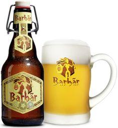 Barbãr, brewery Lefèbvre,Quenast (Waals-Brabant) beer with honey. More Beer, All Beer, Best Beer, Wine And Liquor, Wine And Beer, Sous Bock, Beer Club, Belgian Beer, Beer Brands