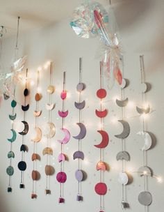 Moon Phase Wall Hanging and Twilights | Wall Hanging by Lady Scorpio | Shop Bohemian at LadyScorpio101.com for exclusive deals @LadyScorpio101