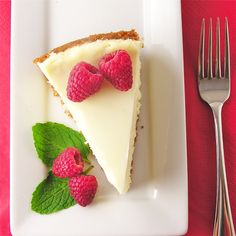 Classic Cheesecake with Creamy Sour Cream Topping!
