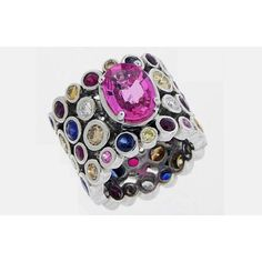Love this ring by JB Diamonds--gorgeous colors!
