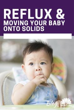 Whilst most babies can experience constipation when moving onto solids, this can be an even bigger issue for babies with reflux. This blog looks at the best foods to help babies with reflux and prevent constipation.
