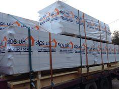 Paul Bancroft Architects SIPs House on a lorry Woodnewton Northamptonshire