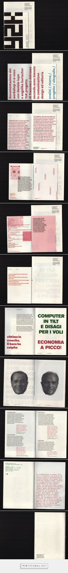 y2k millenium bug on Behance... - a grouped images picture - Pin Them All