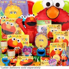 Elmo games and food ideas!