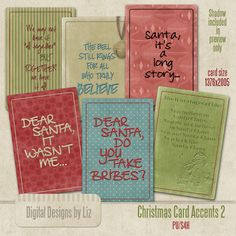 Christmas Card Accents 2