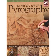 DESIGN ORIGINALS-Fox Chapel Publishing: The Art and Craft Of Pyrography. Although it is often referred to as wood burning; the art of pyrography can be worked on just about any natural surface inclu Wood Burning Patterns, Wood Burning Art, Scroll Saw Patterns Free, Art And Craft Design, Joanns Fabric And Crafts, Gourds, Beautiful Artwork, Graphic, Wood Crafts