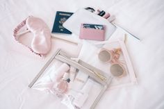 Gal Meets Glam Truffle Clutch - Truffle bags in a variety of sizes aesthetic flatlay TRUFFLE Clutch - Gal Meets Glam Travel Packing, Travel Bags, Packing Tips, Travel Flatlay, Travel Luggage, Calpak Luggage, Passport Travel, Suitcase Packing, Europe Packing
