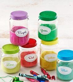 Homemade Play Dough Recipe ~ colorful nontoxic play... great DIY gift too!