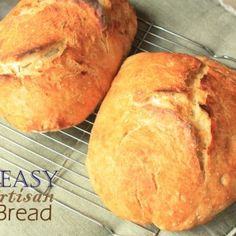 Easy Artisan Bread