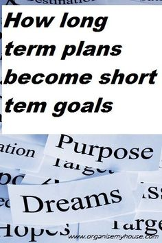 how long term plans become short term goals time management work from home time management