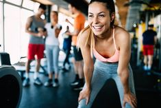 Buy Close up image of attractive fit woman in gym by on PhotoDune. Close up image of smiling attractive fit woman in gym Fitness En Plein Air, Outdoor Training, Chubby Cheeks, Outdoor Workouts, Arm Workouts, Workout Regimen, Going To The Gym, Physical Fitness, Personal Trainer