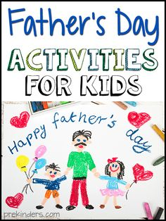 Here are some Father's Day activities, songs, and books for kids from around the web! These are links from around the web to some fun and simple Father's Day
