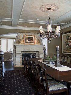 Edina Country Club Custom Designed Home - modern - dining room - minneapolis - Schrader & Companies