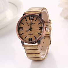 Aliexpress.com : Buy New Watches Wood Men Women Big Face Analog Quartz Watches Ladies Watches Business Men Women Casual Woman's Dress Watches XR607 from Reliable XR607 suppliers on 77 Fashion | Alibaba Group