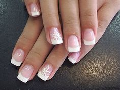 french manucure french manicure and painting on the nails photo 2013 nails nail 800x600